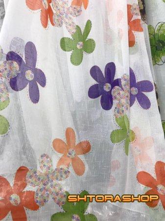 Лен цветы
