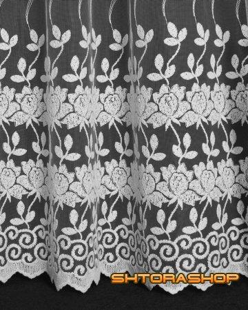 Тюль турецкий Цветы
