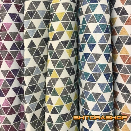 Black out рогожка треугольники