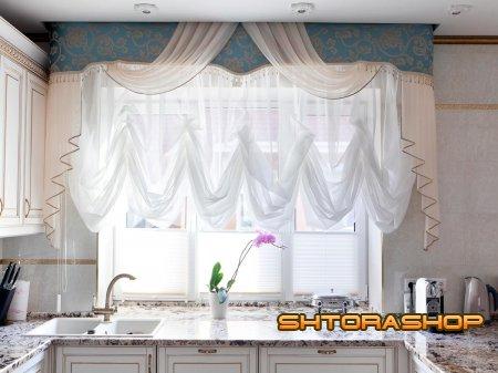 Ткани для штор на кухне